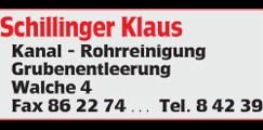 Schillinger Rohrreinigung Teampartner EHC Klostersee e.V.