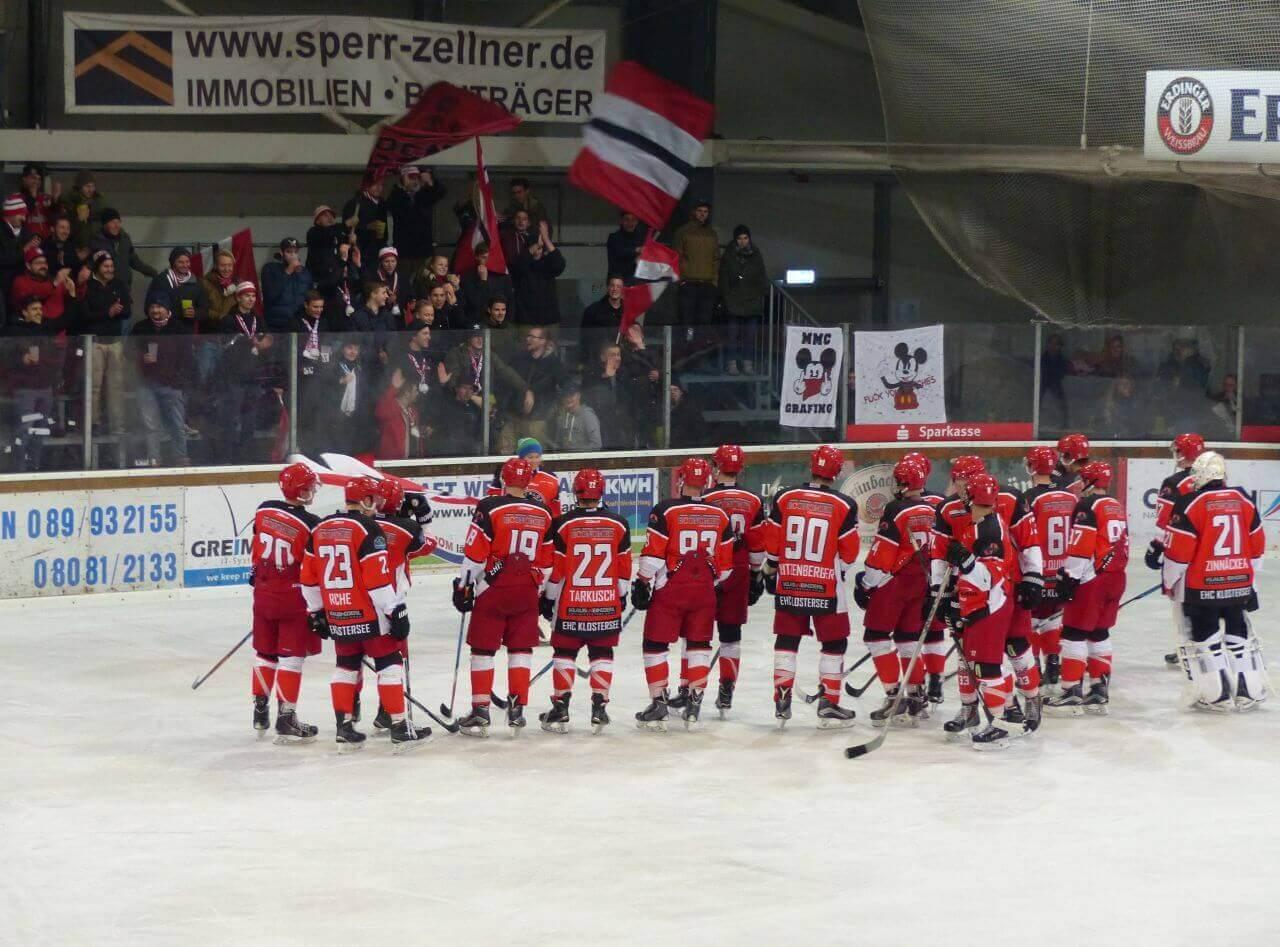ESV Gebensbach vs. EHC Klostersee